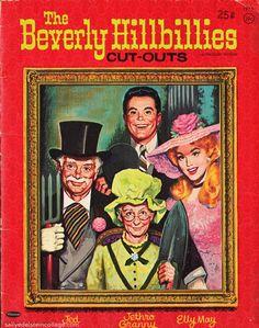 TV 1960s paperdolls Beverly Hillbillies.