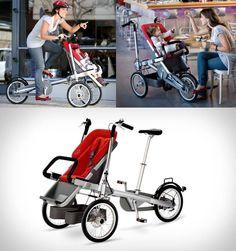Genial para bebes, para pasear al bb y hacer ejercicio.