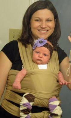 (no sew) baby wrap - diy