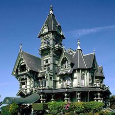 A mansion in California ...