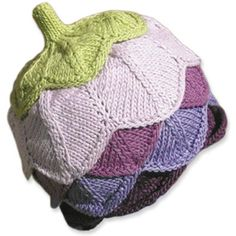 These adorable Knitwhits Flore Hat Kits are so much fun to #knit!