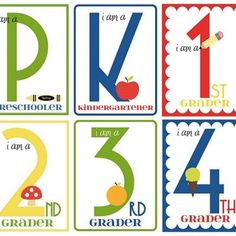 Back to School Printables for cute photos!