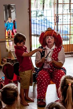Circus party - hire a clown? Yes! #SocialCircus