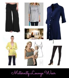 Some of our very favorite #maternity lounge wear. Comfort and style CAN go together!