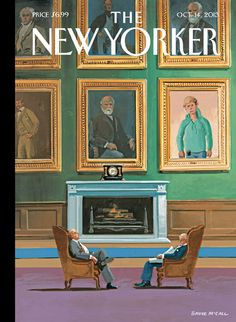 "A look at this week's cover, ""New Money,"" by Bruce McCall"