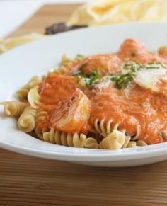 Roasted Red Pepper Pasta Sauce!