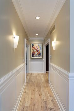 Lovely Living Room Wainscoting Panels