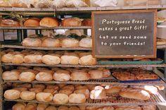 Fresh Baked Portuguese Bread