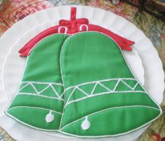 Antique Vintage Cloth Potholder by Hallie St by NeldaMaesCloset, $5.50