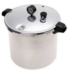 Pressure cooker and canner
