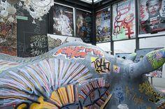 Skunk Dog, artiste Street Art au New Hotel of Marseille avec Marseille Provence 2013