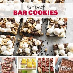 Our Best Bars and Brownies