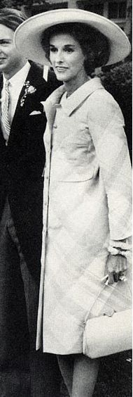 Babe Paley at her daughter's wedding to Carter Burden