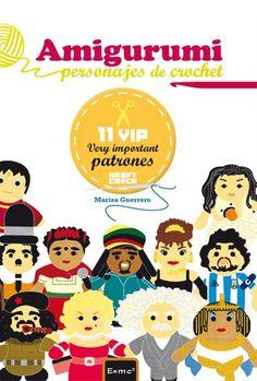Amigurumi. Personajes de crochet. 11 VIP: Very Important Patrones  http://kraftcroch.bigcartel.com/
