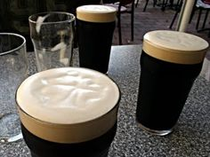 I dream of enjoying a perfectly poured pint of Guinness in pub in Ireland!  Okay, maybe a few pints....