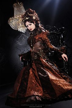 #Steampunk Queen  outfit women #2dayslook #new fashion #outfitstyle  www.2dayslook.com