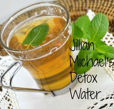 How To Make Jillian Michael's Detox Water