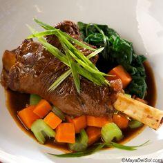 Sancocho de Borrego - Columbian Lamb Stew with Lamb shoulder, hominy ...