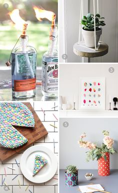 DIY // five projects to try this weekend