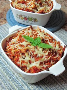 Quinoa Pizza Casserole - Use #Daiya instead of mozzarella and make it #vegan.