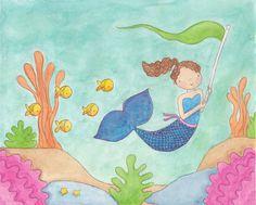 cute series of Mermaids