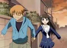 Admit it...you know they want to be together! <3  Fruits Basket! Kyo and Tohru