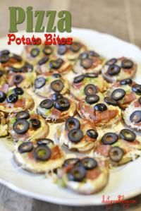 #wisjm Pizza Potato Bites are a crowd favorite!! So easy and delicious!