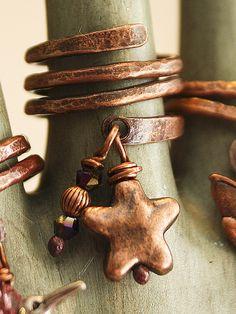 Cute, cute, cute copper ring!!