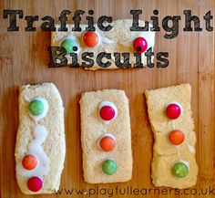 Playful Learners: Traffic Light Biscuits