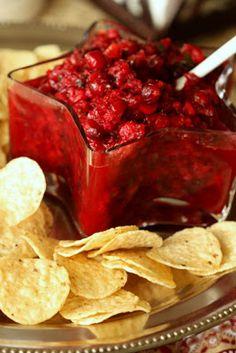 Half Baked: Cranberry Salsa
