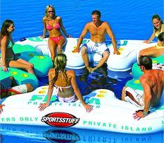 Sportsstuff Floating Islands <3