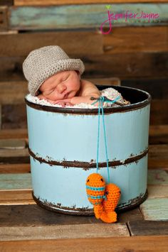 Fisherman Bucket Hat Newborn thru 12 months available  Excellent Photo Prop. $17.00, via Etsy.