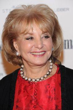 Barbara Walters Cultured Pearls