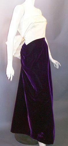 Irene Lentz gown, 1950s, DCV archives