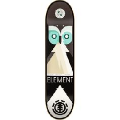 Owl Skateboard #Element