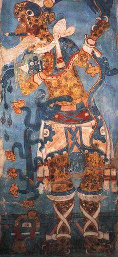 Cacaxtla .mural Mexico