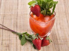 Strawberry-Balsamic Tequila Sour | Serious Eats : Recipes
