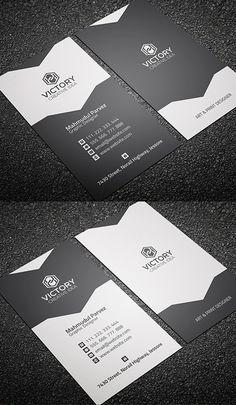 Corporate & Creative Business Card #businesscards #businesscardtemplates #printready #corporatedesign
