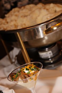 Wedding Meal Ideas: Wedding Mashed Potato Bar! http://www.denisemackphotography.com/#!/DMP_Home