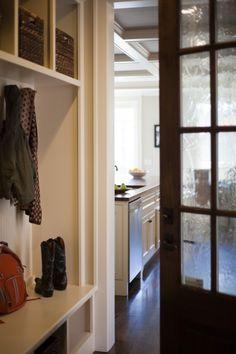 mudroom - great door