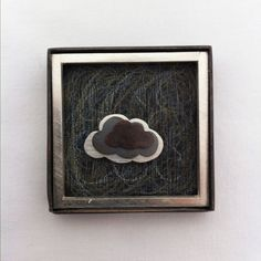 "Brooch, ""Clouds"""