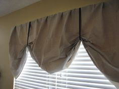 Reinvented: I'm a Canvas Curtain Copy Cat