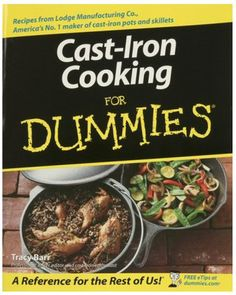 cast-iron cook book - yes please!