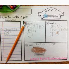 Little Bird Kindergarten: Thanksgiving Uncovered!