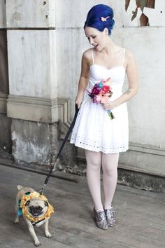 Wedding pug