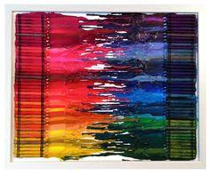 Crayon melting 3