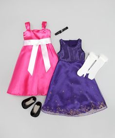Take a look at this Party Princess Doll Outfit Set by Springfield Collection on #zulily today!
