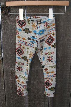 Aztec Print Leggings..Kids Leggings..Baby leggings..Childrens Leggings..Tribal Print..Girls..Boys.. Leg Warmers