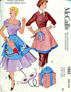 McCall's 1822  Vintage 1950's  Sewing Pattern   by anne8865, $22.75