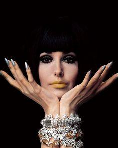 candypriceless:  Guy Bourdin, Vogue 1966